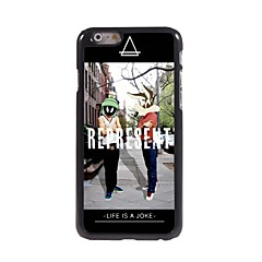 representar estuche rígido de aluminio del diseño para el iPhone 6 Plus