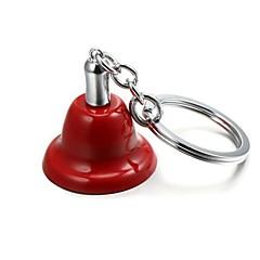 preiswerte Schlüsselanhänger-Weihnachten Jingle Bell Zink-Legierung Schlüsselanhänger