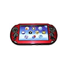 お買い得  PS Vita 用アクセサリー-PSヴィータのPSV PCH-2000用のカラフルなアルミ金属皮膚保護カバーケース