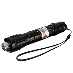 LT-532B Muti-image Green Laser Pointer (1MW,532nm,1x18650,Black)