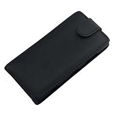 Недорогие Чехлы и кейсы для Nokia-Кейс для Назначение Nokia Кейс для Nokia Флип Чехол Однотонный Твердый Кожа PU для