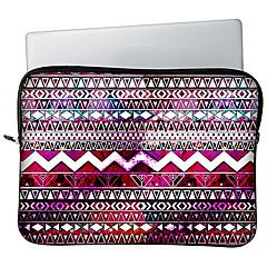 """preiswerte Laptop Taschen-huado® 13 """"15"""" h65885 Bohemien Stammesstreifenmuster Laptophülle Fall"""