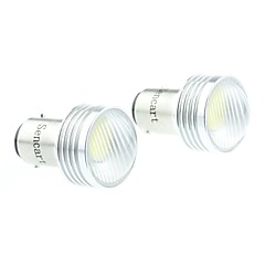 cheap LED Car Bulbs-BA15D(1142) Car Motorcycle White 3W COB Reversing lamp