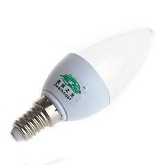 preiswerte LED-Birnen-3000-3500/6000-6500lm E14 LED Kerzen-Glühbirnen C35 8 LED-Perlen SMD 2835 Dekorativ Warmes Weiß / Kühles Weiß 85-265V / # / ASTM / FCC