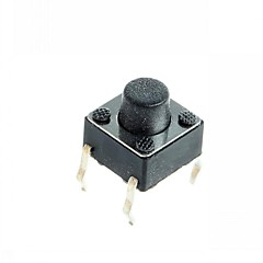 cheap BUY MORE SAVE MORE-4-pin Tact Switch Tactile Push Button Switch DIY 6x6x5mm (100 pcs)