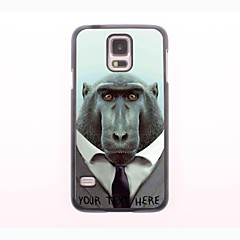 gepersonaliseerde telefoon case - baviaan ontwerp metalen behuizing voor Samsung Galaxy S5 mini