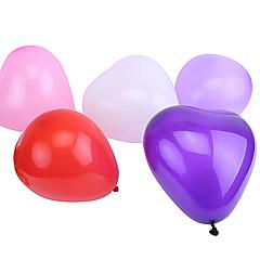 Kulor Ballonger Hjärtformad