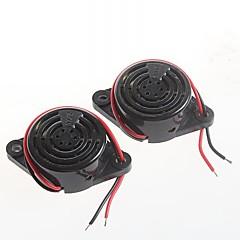yüksek desibel alarm sfm-27 dc3-24v sürekli sesli hoparlör sesli zilleri (2 adet)