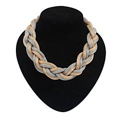 povoljno Ženski nakit-Žene Izjava Ogrlice - Europska, Simple Style Crn, Pink, Tamno siva Ogrlice Za