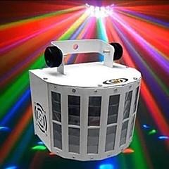 olcso Mini lézer projektorok-lt-934532 hangvezérelt vezérlő RGB színes LED színpadi lézer projektor (220v.1xlaser projetor)