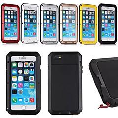 Фитин алюминия водонепроницаемый ударопрочный Gorilla Glass дело с сенсорным ID для iPhone 6 Plus (разные цвета)