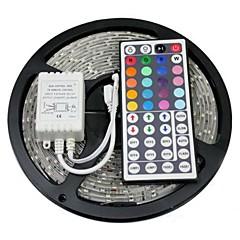 cheap LED Strip Lights-ZDM® 5m Waterproof 300x5050 RGB LED with 44Key IR Remote Controller RGB Cuttable Self-adhesive Linkable DC12V 1set