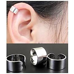 Női Francia kapcsos fülbevalók Fül Mandzsetta minimalista stílusú Divat jelmez ékszerek Ötvözet Circle Shape Ékszerek Kompatibilitás