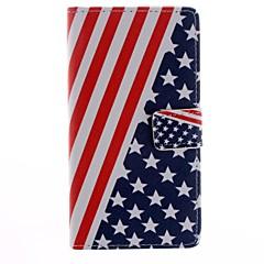 Varten HTC kotelo Korttikotelo / Lomapkko / Tuella / Flip Etui Kokonaan peittävä Etui Lippu Kova Tekonahka HTC