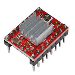 a4988 μονάδα οδήγησης του κινητήρα stepper για 3D εκτυπωτές in με ψύκτρα