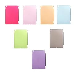 abordables Carcasas y Fundas para iPad Air 2-color sólido pc superficie glaseado contraportada de aire ipad 2 (colores surtidos)