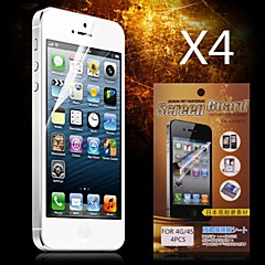 Protective HD Screen Protector for iPhone 4/4S(4PCS) iPhone 4s / 4 Screen Protectors
