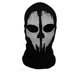 Ghost Mask Unisex Halloween Festival / Holiday Halloween Costumes Print