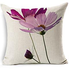 1 kpl Puuvilla/pellava Tyynynpäälinen,Kukka Moderni/nykyaikainen