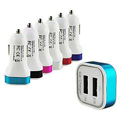 Недорогие Автоэлектроника-Двухместный сигареты USB3.0 прикуривателя автомобильный адаптер для Samsung Apple мобильного телефона