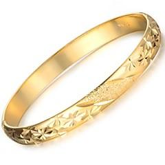 divat remek ajándék ms minta bevonata 24 k arany karkötő