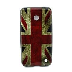 Voor Nokia hoesje Patroon hoesje Achterkantje hoesje Vlag Zacht TPU Nokia Nokia Lumia 630