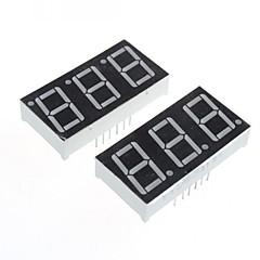hesapli -(arduino için) uyumlu 3 haneli 12-pin ekran modülü -. 0.56in (2 adet)