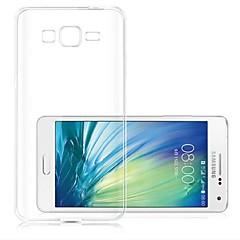 Για Samsung Galaxy Θήκη Εξαιρετικά λεπτή / Διαφανής tok Πίσω Κάλυμμα tok Μονόχρωμη TPU Samsung A3