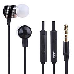 JTX-jl520 3.5mm redukcji szumów regulację głośności mikrofonu ucho słuchawki dla iPhone i innych telefonów