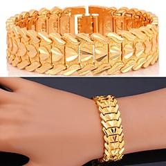 voordelige Armbanden-Dames Armbanden met ketting en sluiting Gepersonaliseerde Luxe Klassiek Liefde Zirkonia Platina Verguld Verguld Legering Sieraden Hart