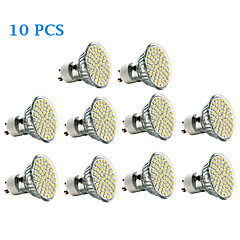 3W GU10 LED Spotlight 60 SMD 3528 300-350 lm Warm White Cold White 3500/6000 K AC 220-240 V