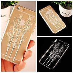 Для Кейс для iPhone 6 / Кейс для iPhone 6 Plus Прозрачный / С узором Кейс для Задняя крышка Кейс для дерево Твердый PCiPhone 6s Plus/6
