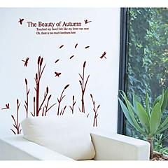 paperi sudenkorento ruoko seinä tarroja