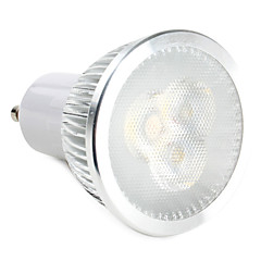 cheap LED Bulbs-310 lm GU10 LED Spotlight 3 leds High Power LED Warm White Natural White AC 220-240V