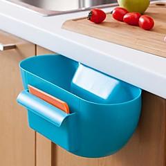 플라스틱 주방 폐기물 저장 상자 / 주방 경우 (모듬 된 색상)를 수신