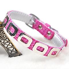 お買い得  犬用首輪/リード/ハーネス-ペットの犬のための調整可能なPUレザーのパンクスタイルの襟(アソート色、サイズ)