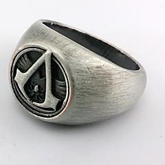 Biżuteria Zainspirowany przez Assassin's Creed Cosplay Anime / Gry Video Akcesoria do Cosplay pierścień Srebrny Slitina Męskie