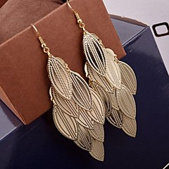 preiswerte Ohrringe-Damen Mehrschichtig Tropfen-Ohrringe - Mehrlagig Gold / Silber Für