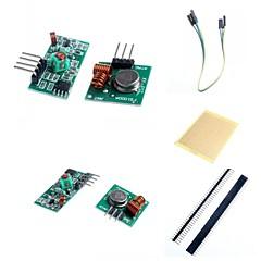 433 m superregeneration zendmodule (inbraakalarm) en ontvanger module accessoires voor Arduino