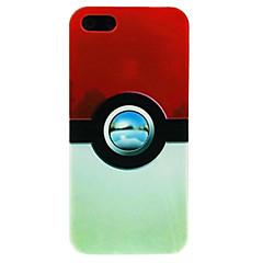 Недорогие Кейсы для iPhone 7 Plus-iphone 7 плюс камера шарик воды шаблон для iphone 5 / 5s