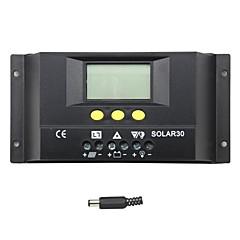 ذ-30A الشمسية شاشات الكريستال السائل حدة تحكم المسؤول الشمسية شحن البطارية solar30 منظم