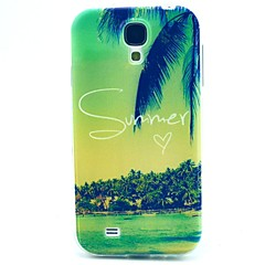 abordables Galaxy S4 Mini Carcasas / Fundas-Funda Para Samsung Galaxy Funda Samsung Galaxy Diseños Funda Trasera Paisaje TPU para S4 Mini