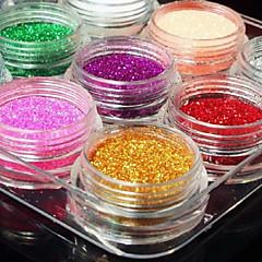 Glitter - Muuta - Abstrakti/Häät - Sormi/Varvas - 11.5X9X1.5 - 12