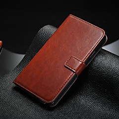 Для Samsung Galaxy Note Бумажник для карт / со стендом / Флип Кейс для Чехол Кейс для Один цвет Искусственная кожа SamsungNote 5 / Note 4