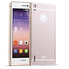 お買い得  Huawei Pシリーズケース/ カバー-ケース 用途 Huawei / Huawei P7 Huaweiケース メッキ仕上げ バックカバー ソリッド ハード アクリル のために Huawei P7 / Huawei
