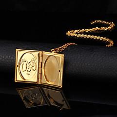 preiswerte Halsketten-Damen Anhängerketten / Medaillon Halskette - 18K vergoldet, vergoldet Modisch Modische Halsketten Schmuck Für Hochzeit