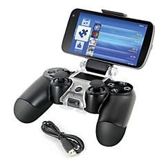 preiswerte Zubehör für Videospiele-Smartphone Halterung Lagerhalter + Ladekabel für PS4-Steuerung Gamepad