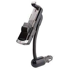 Недорогие Bluetooth гарнитуры для авто-Bluetooth автомобильный комплект громкой связи, Bluetooth 4.0 / fm передатчик / автомобильное зарядное устройство / держатель мобильного телефона