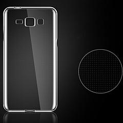 olcso Egyéb tokok Samsung készülékekhez-0,3 mm-es ultra vékony stílus lágy rugalmas TPU burkolat Samsung Galaxy e7