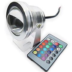 お買い得  LED アイデアライト-10w 200~250lm rgbフルカラーip68防水LEDスポットライトプールライト(12V)